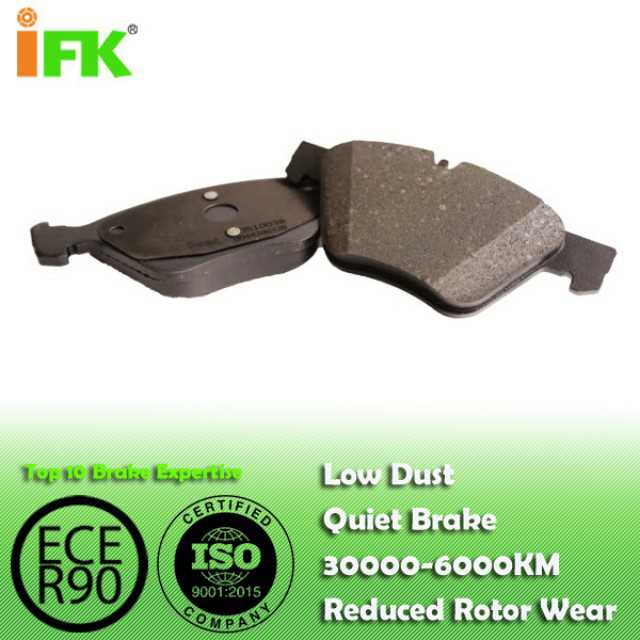 Semi-metallic/Low-metallic /Ceramic brake pad