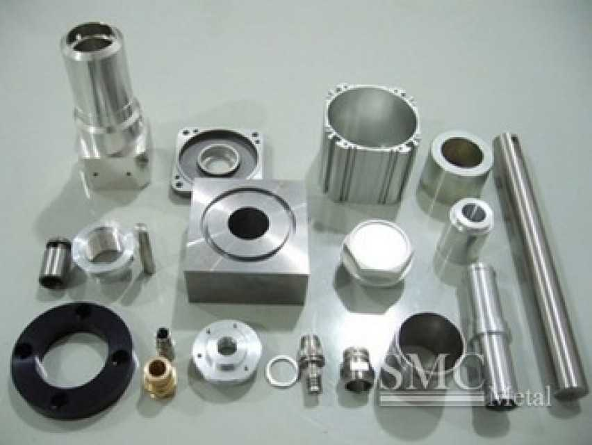 CNC turned components for industrial