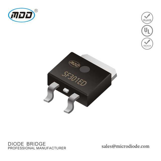 TO-252 Super Fast Rectifiers Diode 3A 600