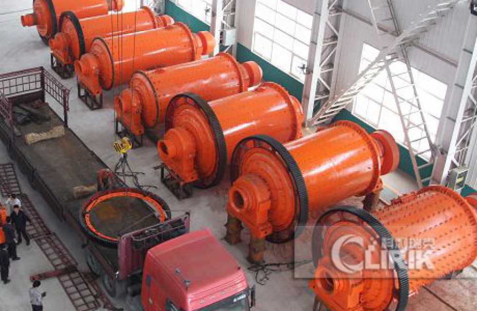 Ball grinding mill for calcite, talc