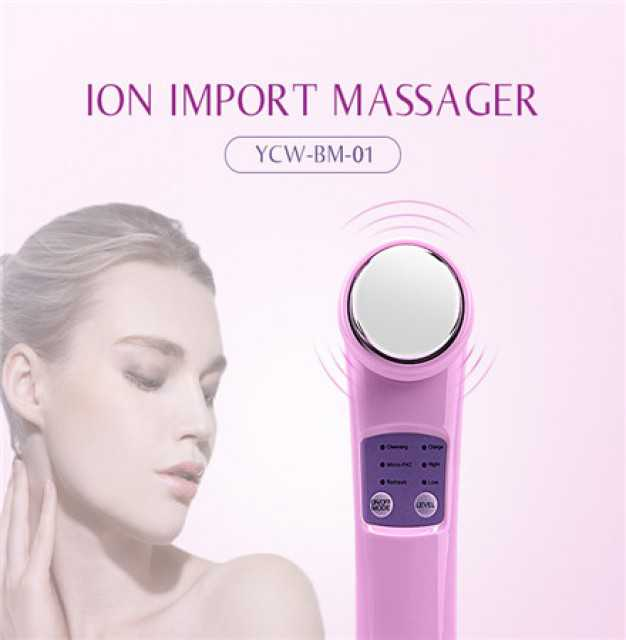 Personal Care Equipment Facial Ion Vibrating Massager