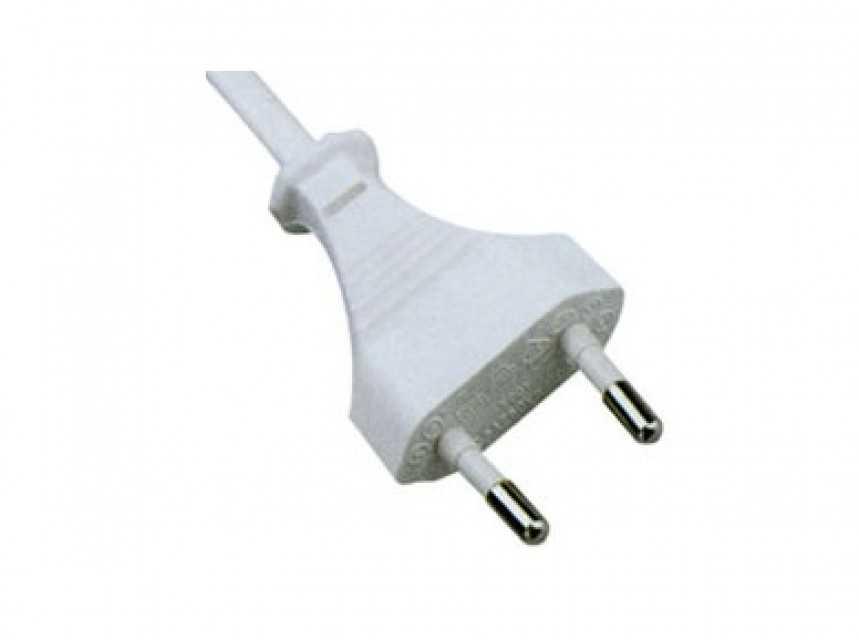EU Power Cord 2Pin Plug JT001