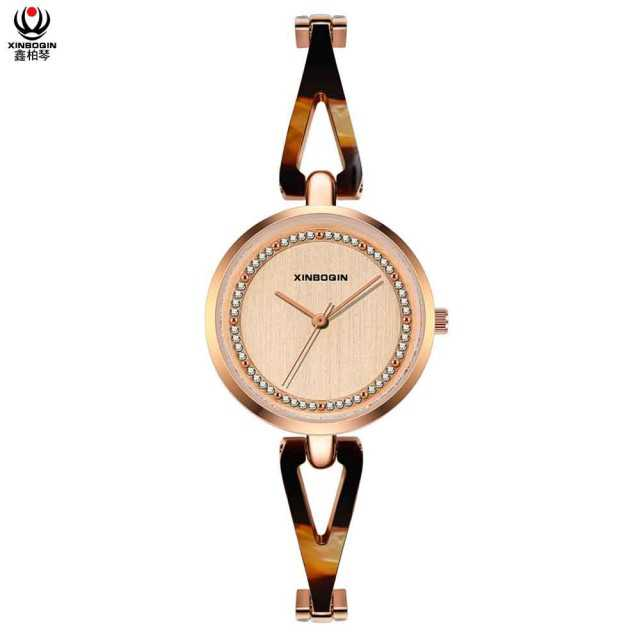 Quartz Acetate Ladies Watch