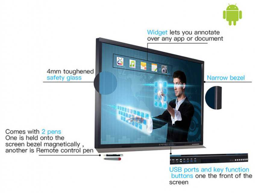 55 Inch All In One Pc For Business/Education