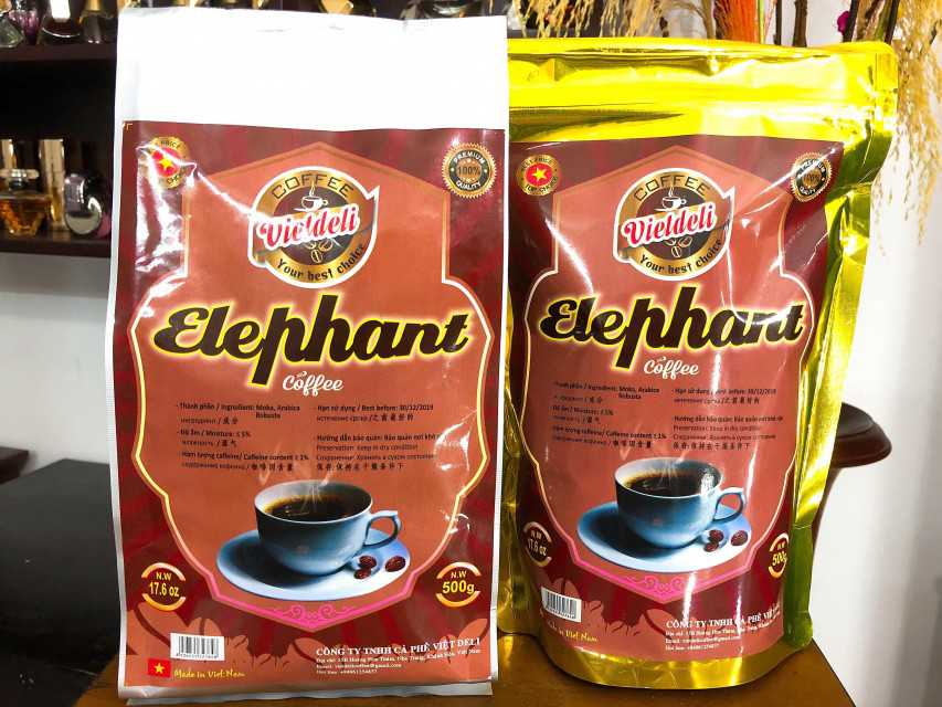 ELEPHANT ROASTED COFFEE BEANS