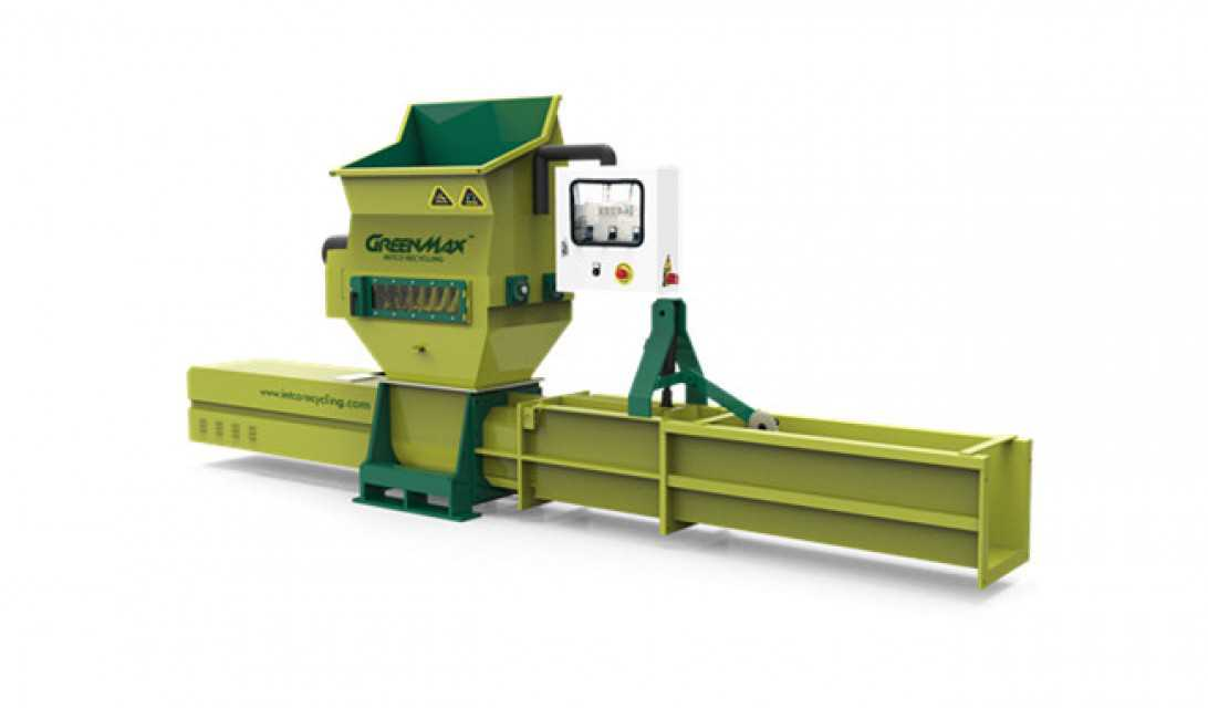 Automatic EPS plastic compactor of GREENMAX