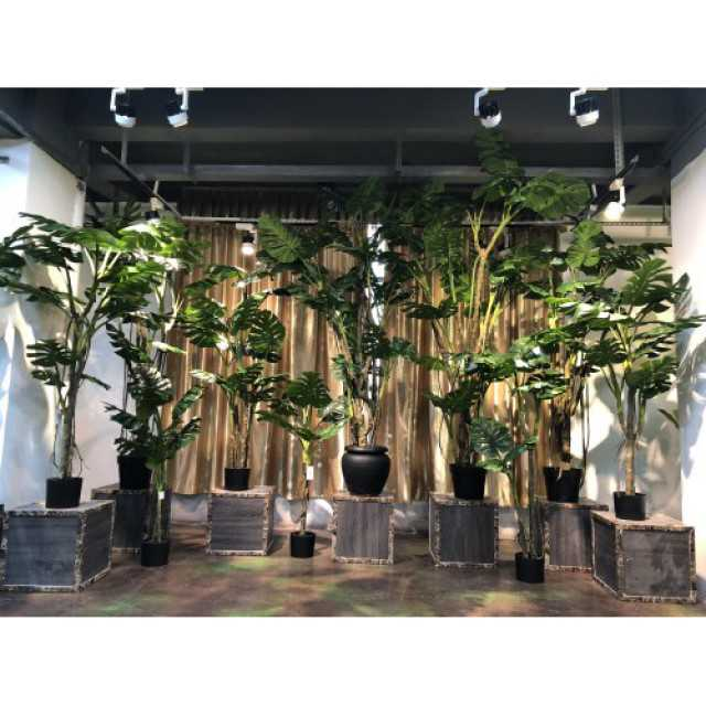 img 1 realistic artificial monstera plant wholesale