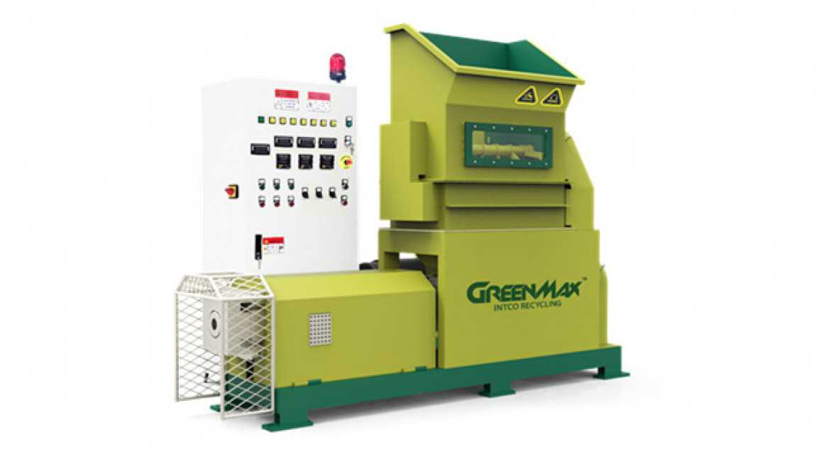 Efficient foam densifier of GREENMAX M-C200 machine