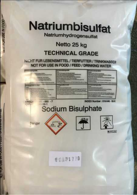 Sodium Bisulphate
