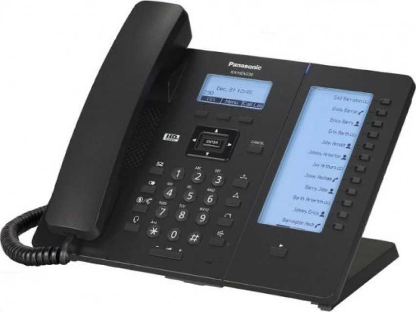 Panasonic KX-HDV230 IP phone.