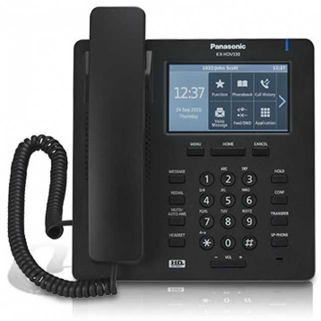 Panasonic KX-HDV330 IP phone .