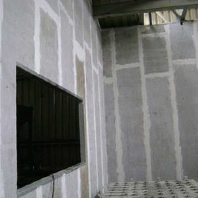 Cement sandwich wall panel