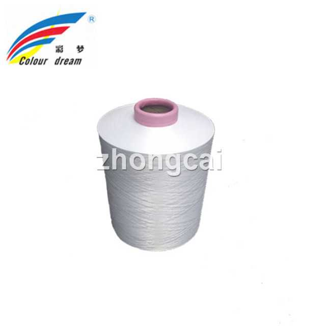 DTY 150/144 Bleached White Polyester Yarn