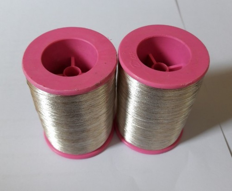 Silver Zari Thread