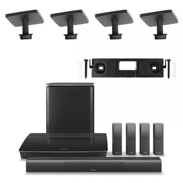 Bose Lifestyle 650 Home Entertainment System with 2 Pairs of OmniJewel