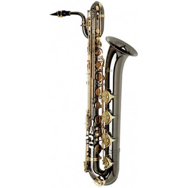 Black Nickel Baritone Saxophone AABS