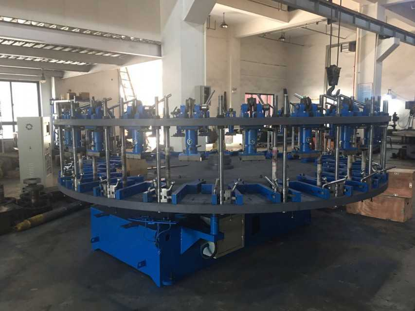 Double Color 16 Stations PVC DIP Machine