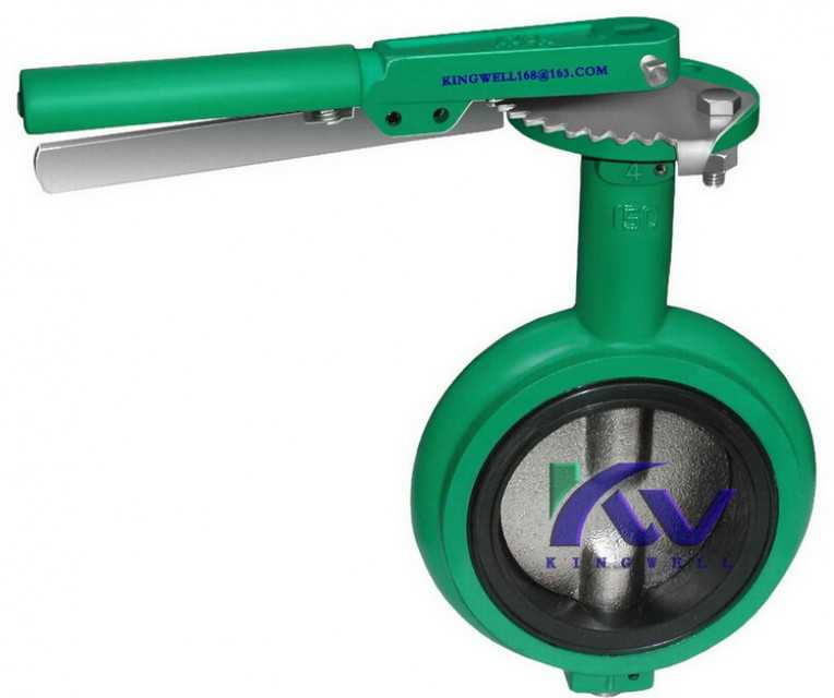 DEMCO NE-C interchangeable wafer butterfly valve