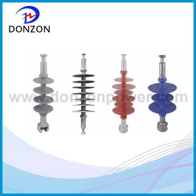 High tensile strength solid silicone insulator