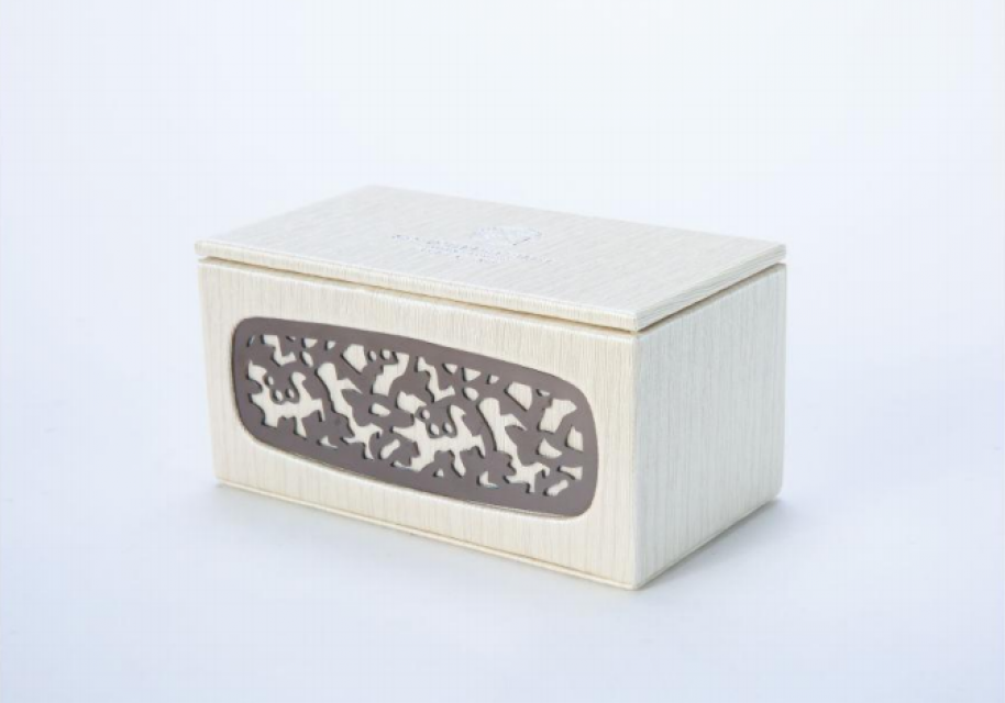 Pu leather hotel duranble tea storage box