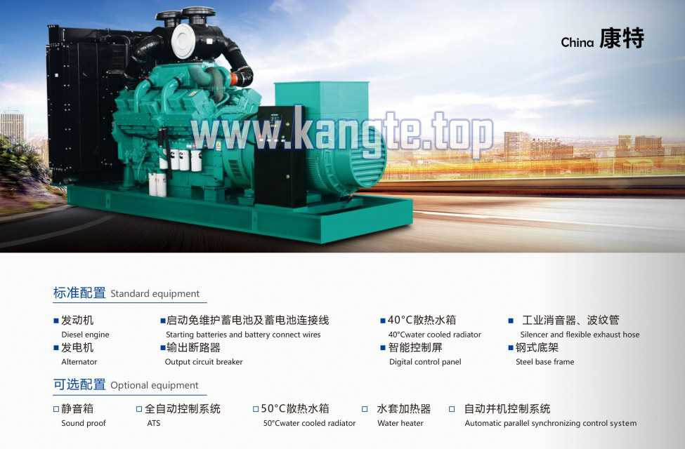 High Quality Cummins Generator Set 20kw Diesel Generator Set for Sale