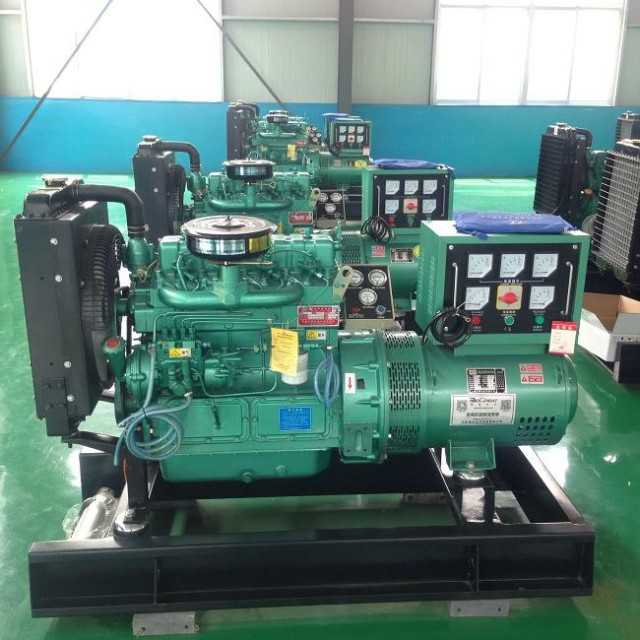 High Quality Ricardo Series 30kw Diesel Generator Set