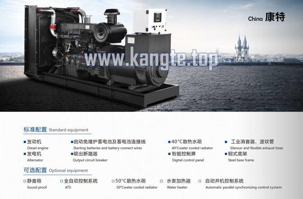 High Quality Ricardo Series 80kw Diesel Generator