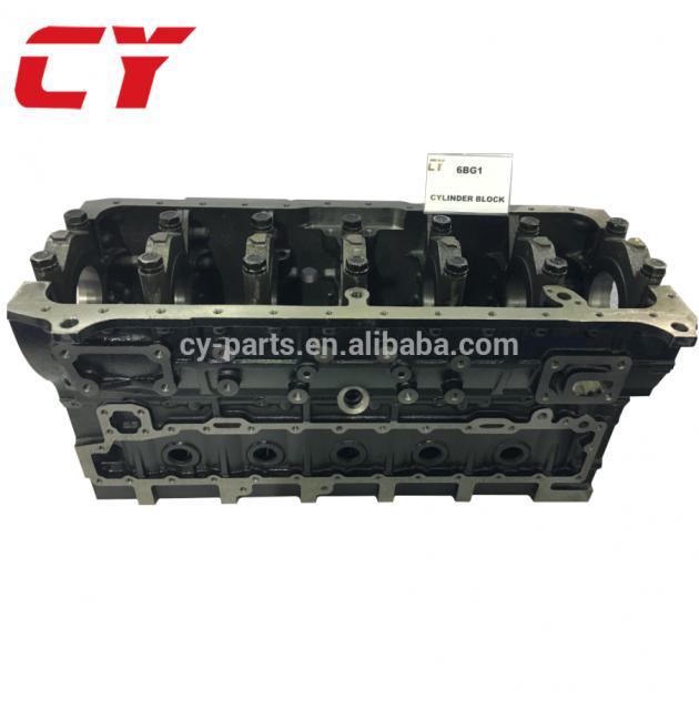 OEM Cylinder block 6BD1 EXCAVATOR 6BG1