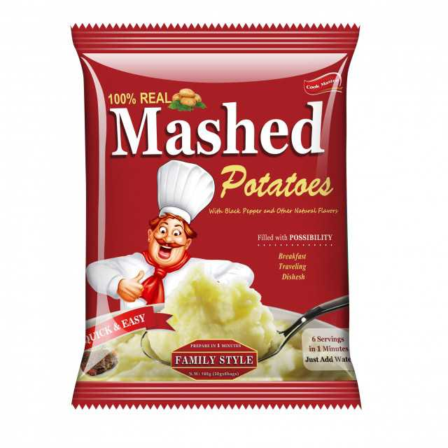 potatoes nutrition instant mushed potatoes