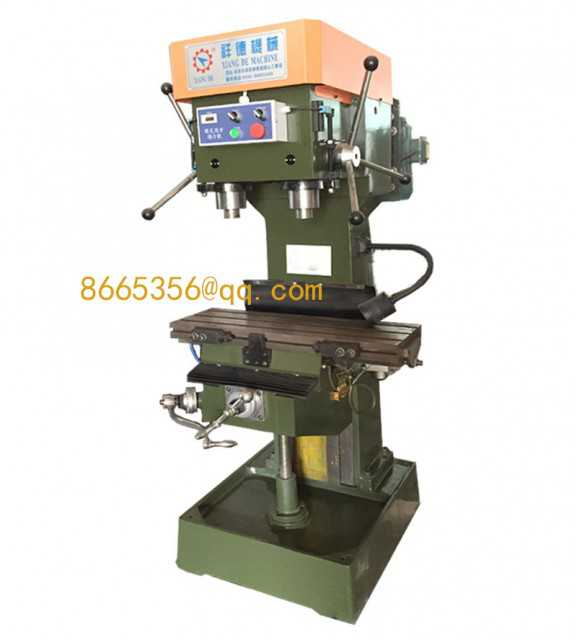 Vertical Double Shaft Drilling and Tapping Machine