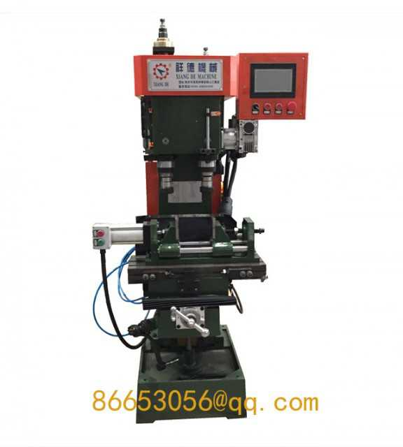 Automatic double-axis drilling and tapping machine