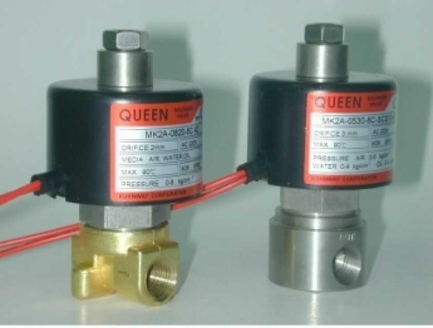 Normally Open Solenoid Valves MK2A-8(10)C