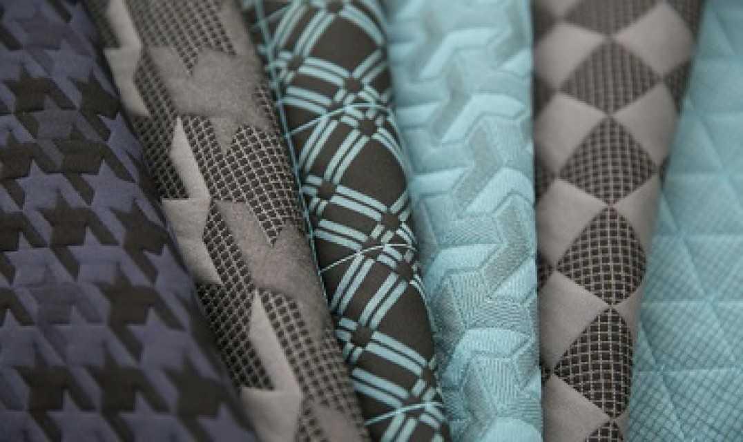Triple Weave Jacquard Fabric
