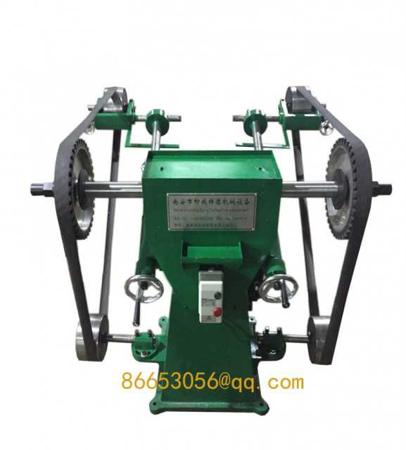 Pipe faucet valves grinding sand belt polishing machine