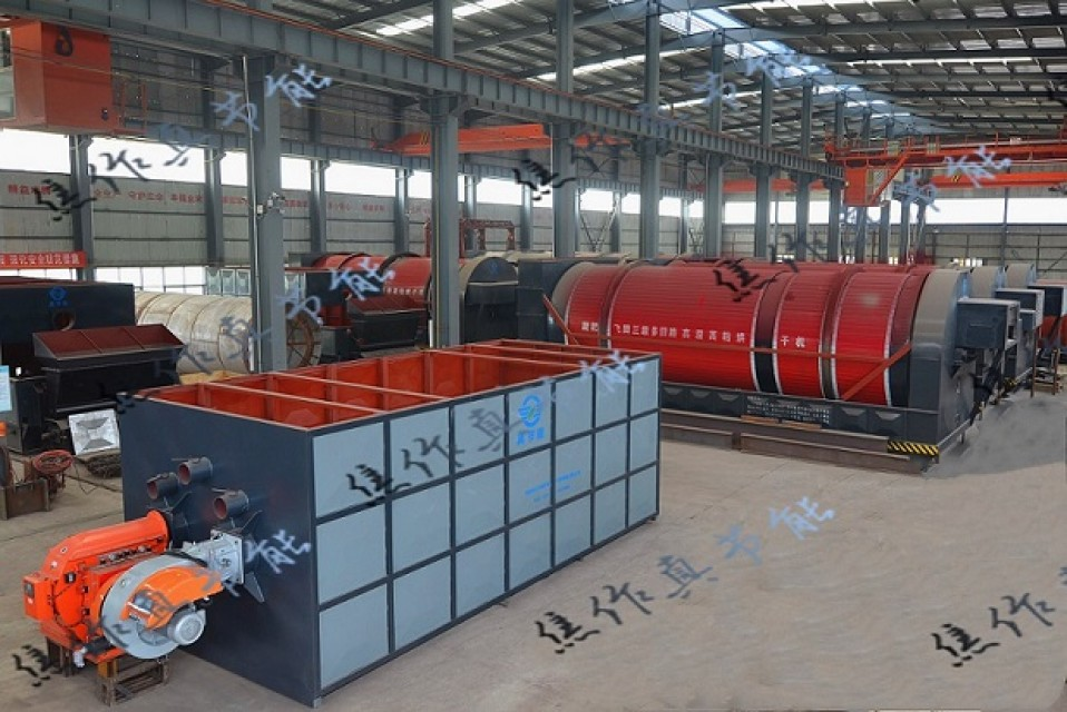 ZJN Dyeing Sludge Dryer