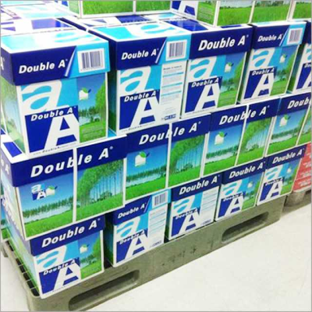 Double A copier paper A4 ready for shipment