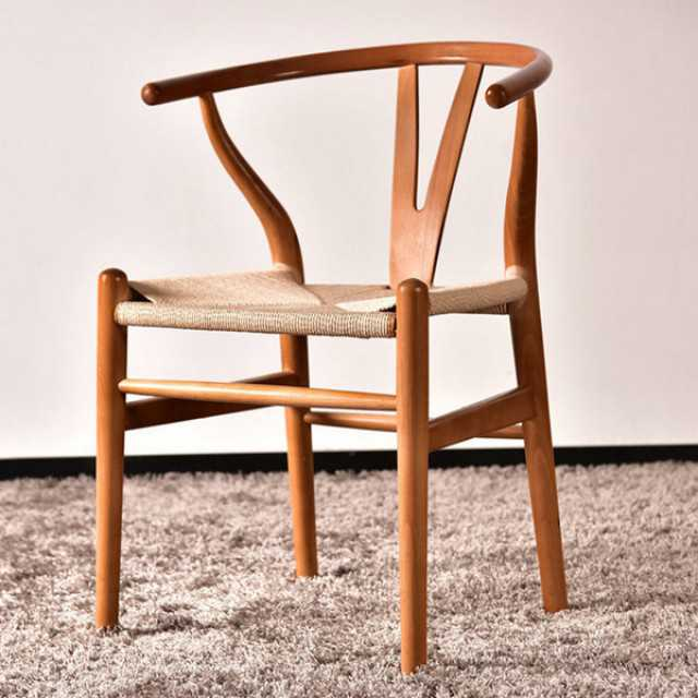 Wooden dining chairs wishbone chairs replica