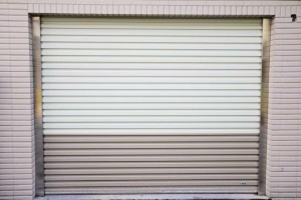 Garage Rolling Door – Zincalume