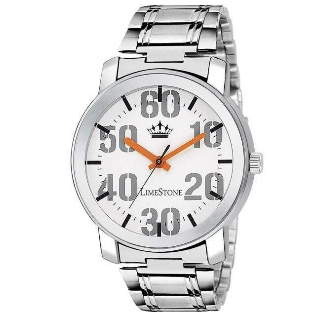 LimeStone Fastrack Design Steel Strap Analog Watch