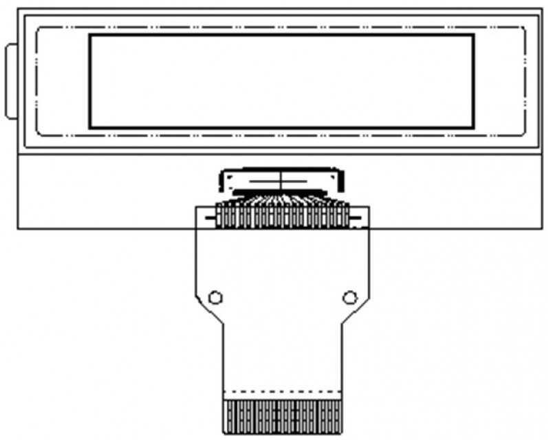 Monochrome LCM Graphic Type  PHG1203D1