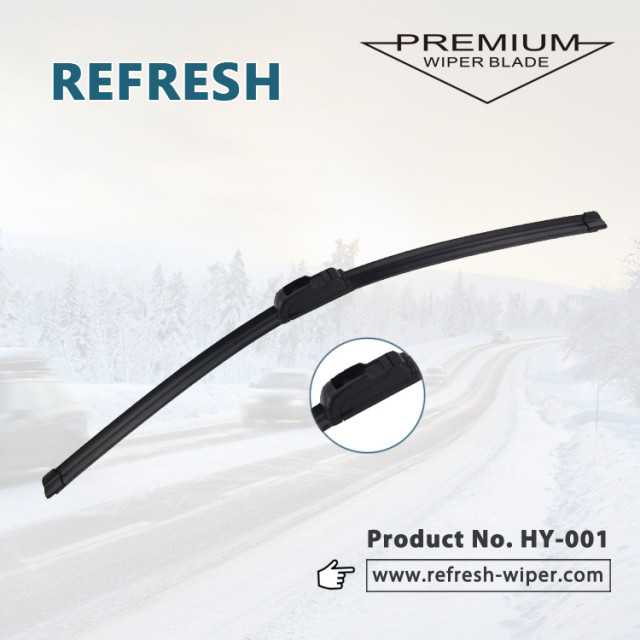 Hot selling HY-001 Universal soft stainless wiper blade