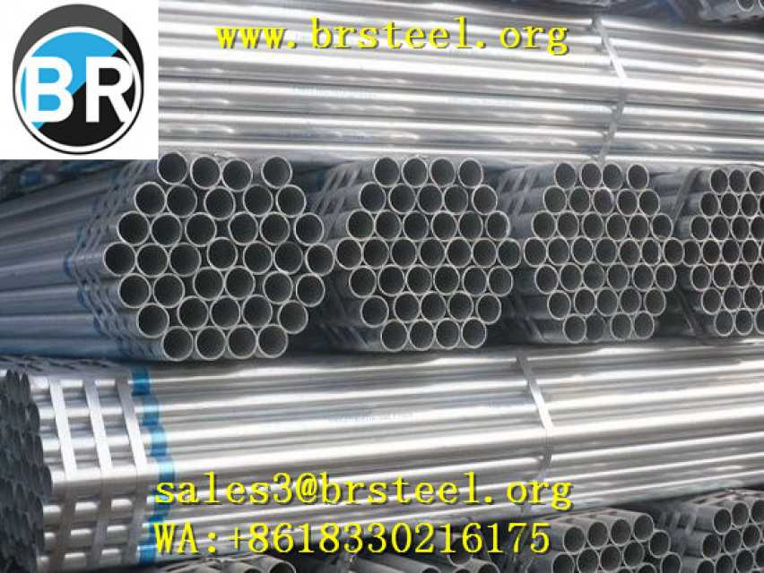 "4""x 3.75 Hot dipped galvanized steel pipes & Pre-galvanized steel pipe"