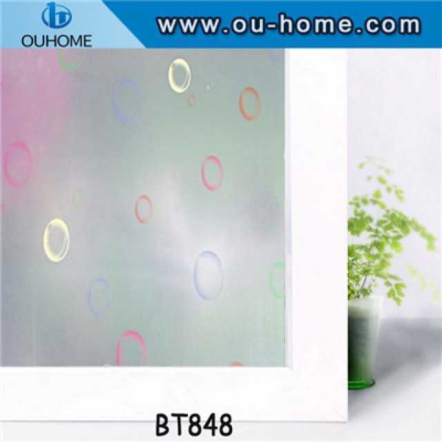 BT848 Printing frosting Glass decorative window film