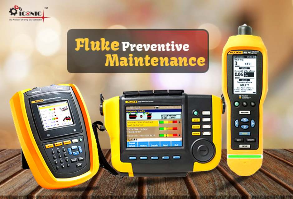 Flukes preventive maintenance tools and equipment.