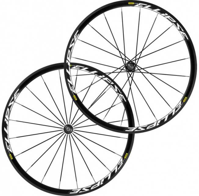 2019 MAVIC ELLIPSE CLINCHER TRACK WHEELSET