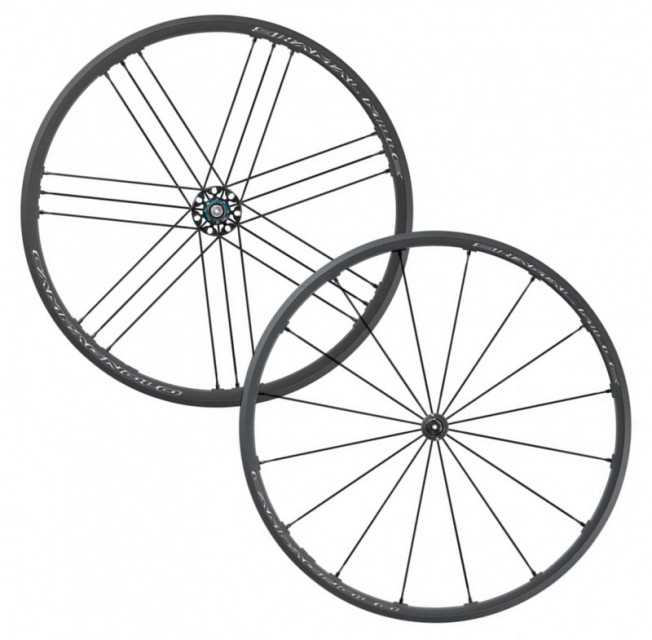 img 1 CAMPAGNOLO SHAMAL MILLE C17 CLINCHER ROAD WHEELSET