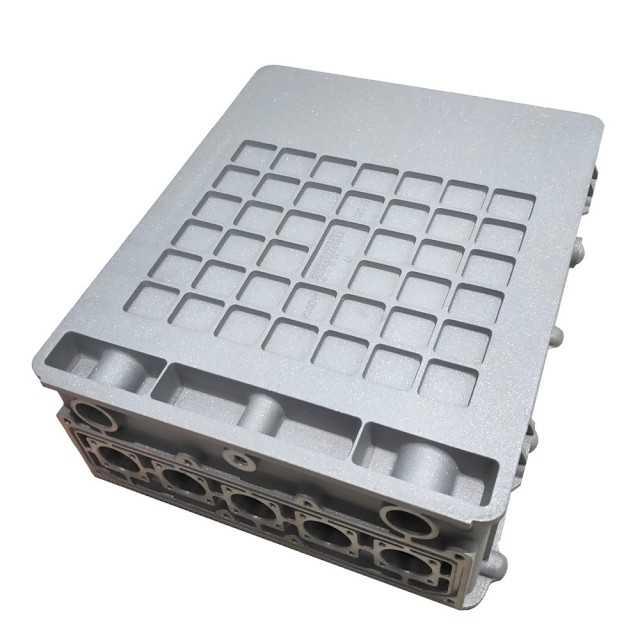 Spraying Coat Silvery New Energy Vehicle Electric Control Box