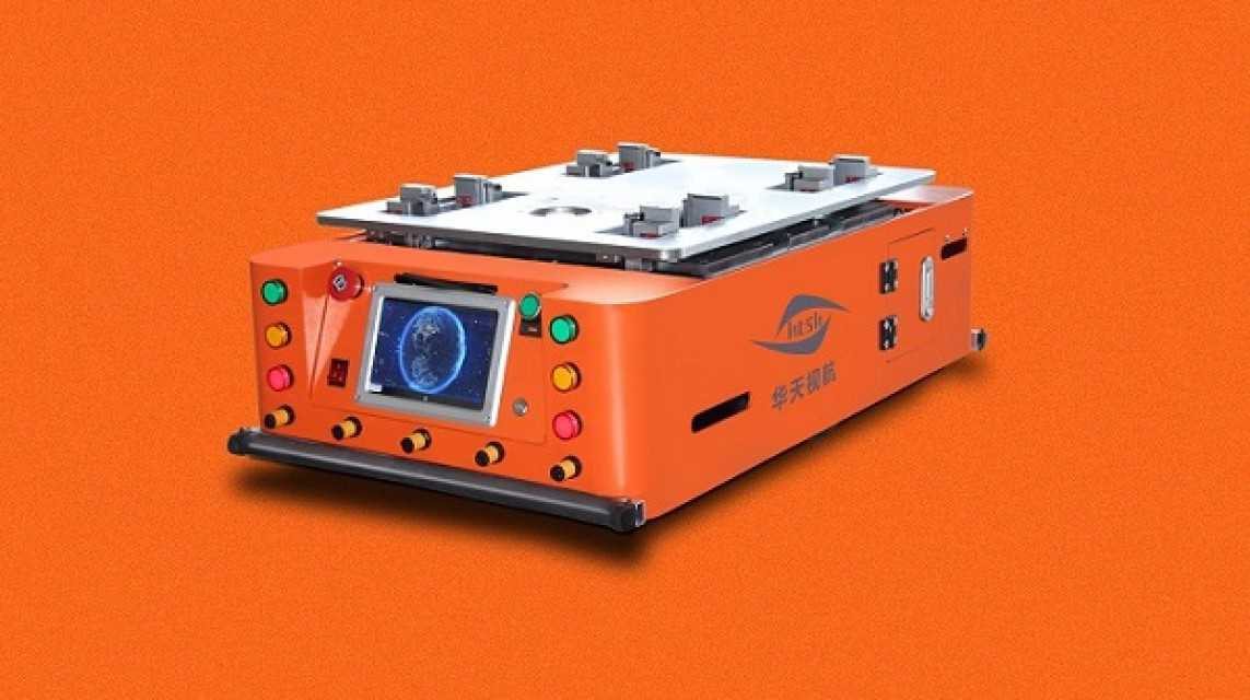 Automated Guided Vehicles Magnetic Tape Guidance Agv