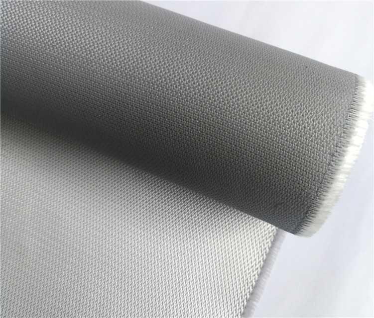img 1 Fire resistant PU coated fiberglass fabric cloth