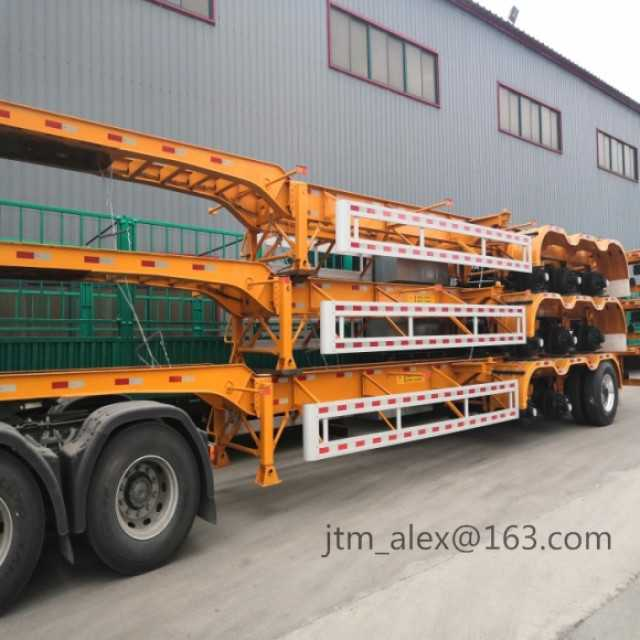 3 Alexs 40FT Container Skeleton semitrailer